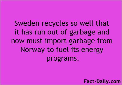 Scientists say that it is possible to beat climate change, but we will need to make HUGE changes to accomplish this. Countries like Sweden are proving to be awesome examples of this.