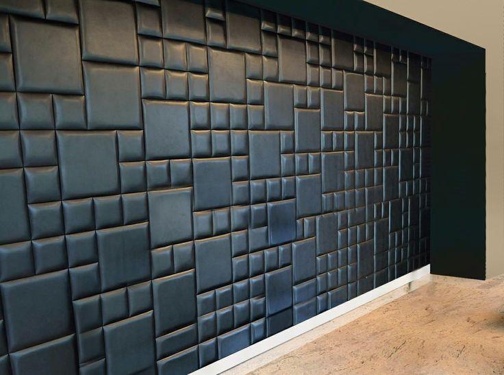 Panele typ mydełko, lakierowane lakierem mat, http://www.projektmebel.pl/panele-scienne