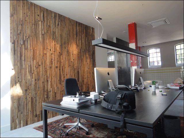 lambrisering hout kantoor