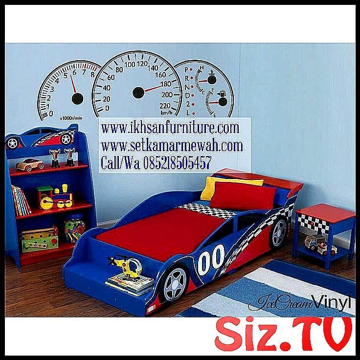 Tempat Tidur Mobil Balap Tempat Tidur Anak Tempat Anak Balap Dipan Karakter Kasur Lakilaki Mobil Mobile Balap Murah Perempua Toddler Bed Toddler Bed