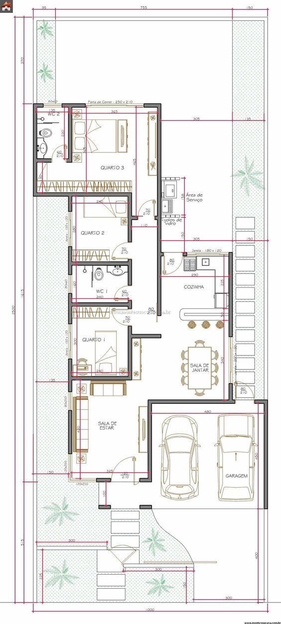 Casa 2 Quartos - 113.14m²
