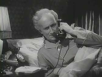 0 Felix Aylmer on the phone in The Demi-Paradise, or Adventure for Two 1943