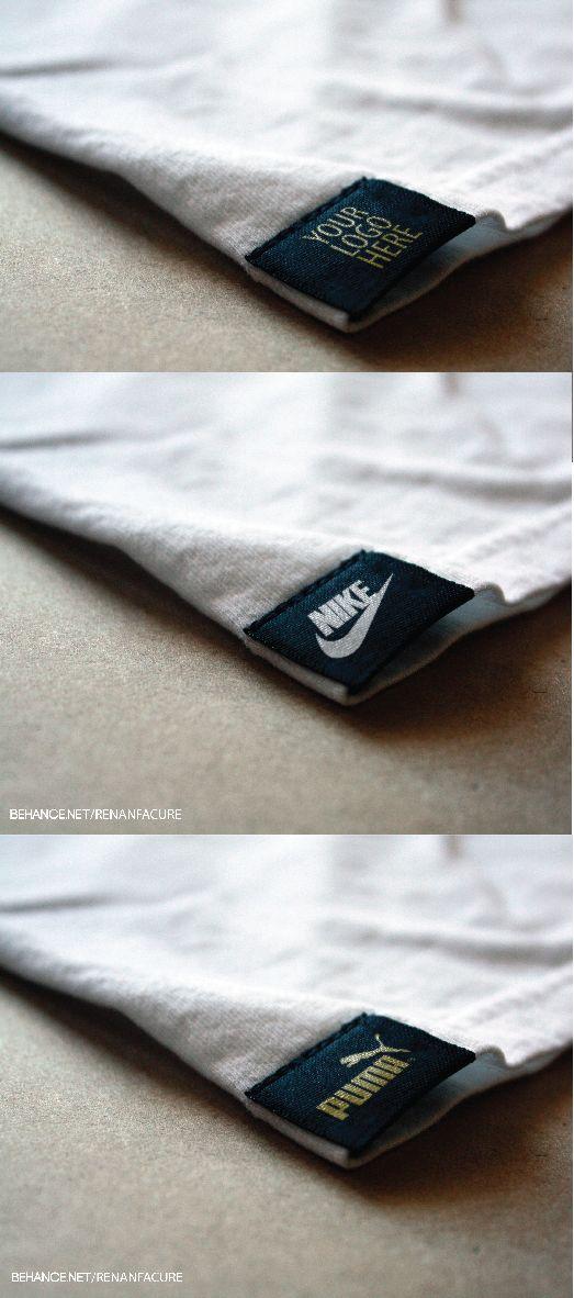 TAG T-shirt Logo mockup  