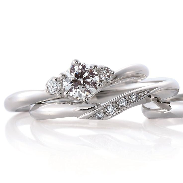 Cheri duo~シェリ デュー~ 深く愛された人という意味を持つ「シェリ」。お互いを思いあい手を重ねたシーンを表現したリングは、大切な人を思うふたりの心をいつまでも繋いでくれる。エンゲージの両サイドをピンクダイヤにアレンジしてもキュート!