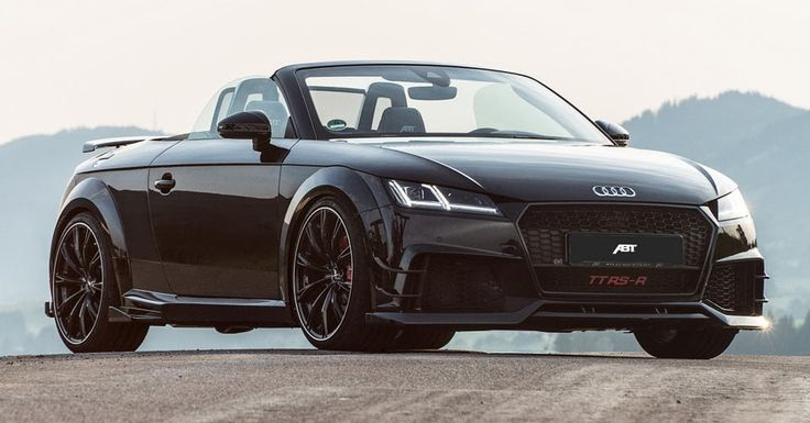 ABT Audi TT RS-R Roadster Packs 500PS, Will Beat An R8 #ABT #Audi