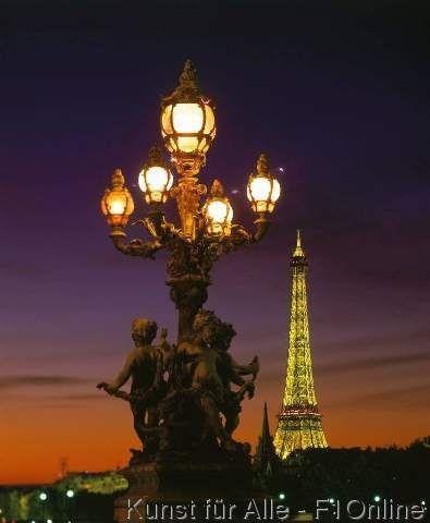 Champ de Mars, Ile-De-France, Eiffelturm