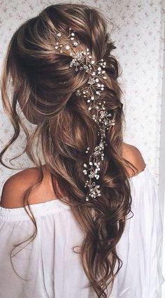 Coiffures de mariée: idées de cheveux pour votre GRAND JOUR !!