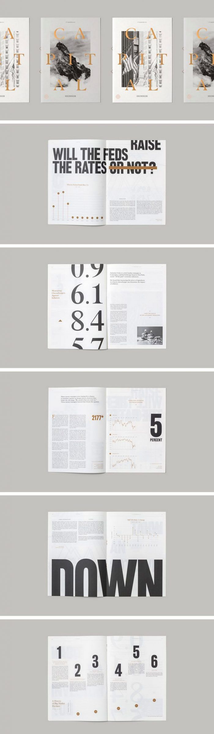 145 Awesome Magazine Layout Designs – #Awesome #De…