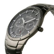 Skagen Mens Titanium Sports Watch 596XLTXM *RRP £199* NEW