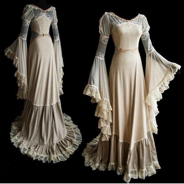 Prinzessin bodenlangen Kleid