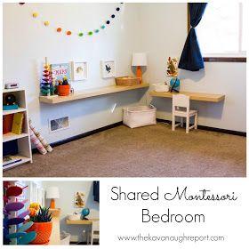 The Kavanaugh Report: Shared Montessori Bedroom