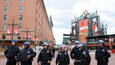The Orioles postponed Monday's scheduled game against the Chicago White Sox at Camden Yards amid violent protests throughout Baltimore. The protests are a response to the death of Freddie Gray afte...