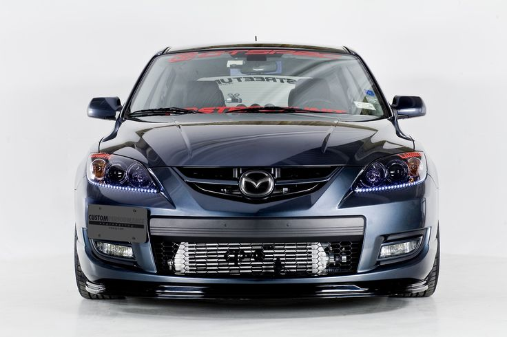 #Mazda #Speed3 ft.#laminx #tint on the #headlights http://www.lamin-x.com/Mazda-3-Wagon-2007-to-2009-s/960.htm