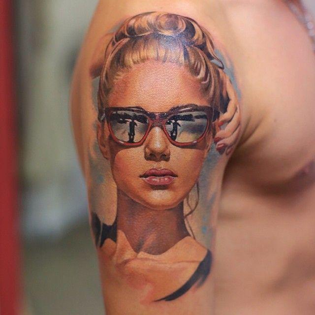 Les tatouages de portraits hyper-réalistes de Valentina Ryabova - http://www.2tout2rien.fr/les-tatouages-de-portraits-hyper-realistes-de-valentina-ryabova/