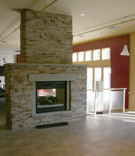 Two way fireplace for the home pinterest for 2 way fireplace