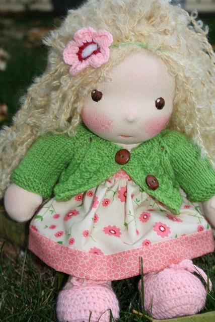 Kay by Darling Waldorf Dolls, via Flickr