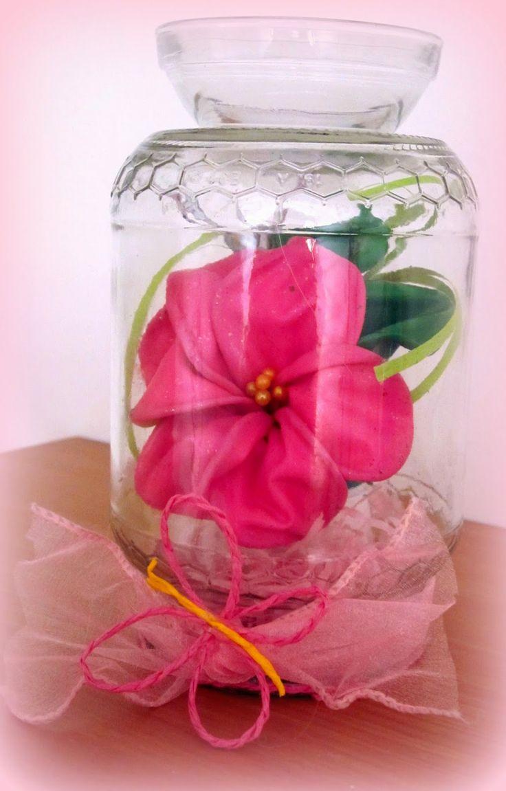 Stelmarya The Handicraft's Wizard: Porta candele ricavati dai barattoli di vetro!