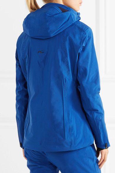 Kjus - Edelweiss Hooded Jacket - Cobalt blue - FR38