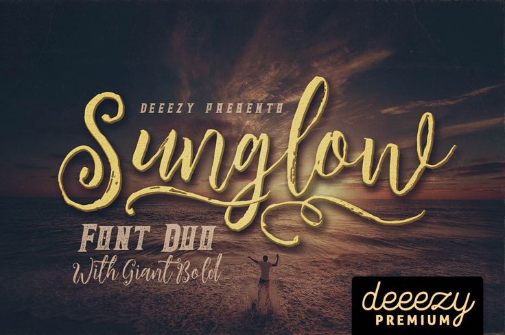 Sunglow Font Duo | Deeezy - Freebies with Extended License