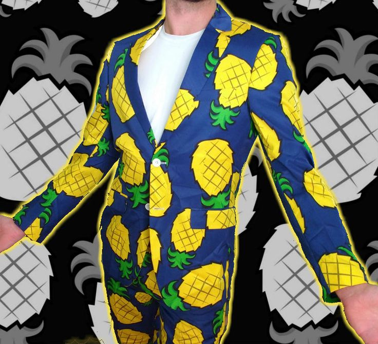 Pineapple suit from www.fruitysuits.com