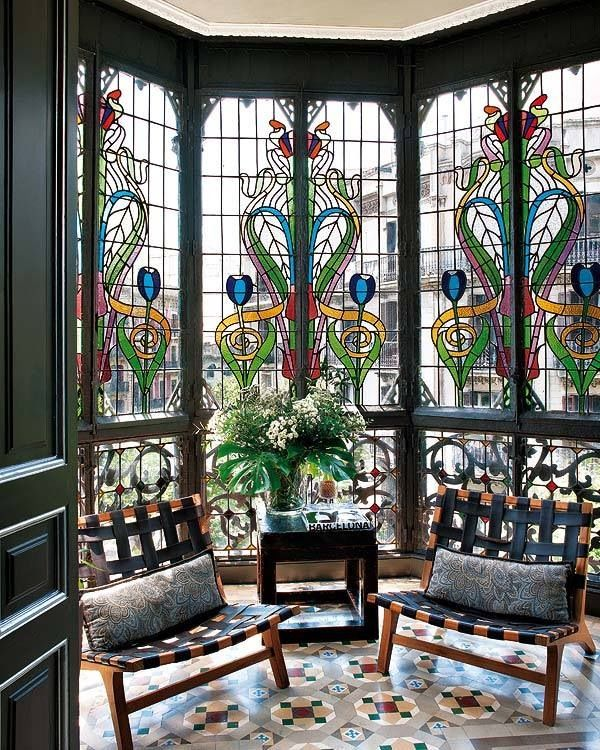 Gorgeous glass windows