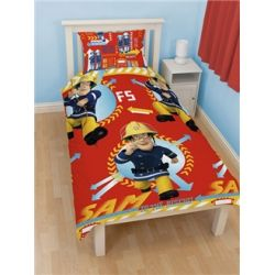 Fireman Sam  Alarm  Single Reversible Quilt Cover Set  The 17 best images about Kids bedroom on Pinterest. Fireman Sam Bedroom Ideas. Home Design Ideas