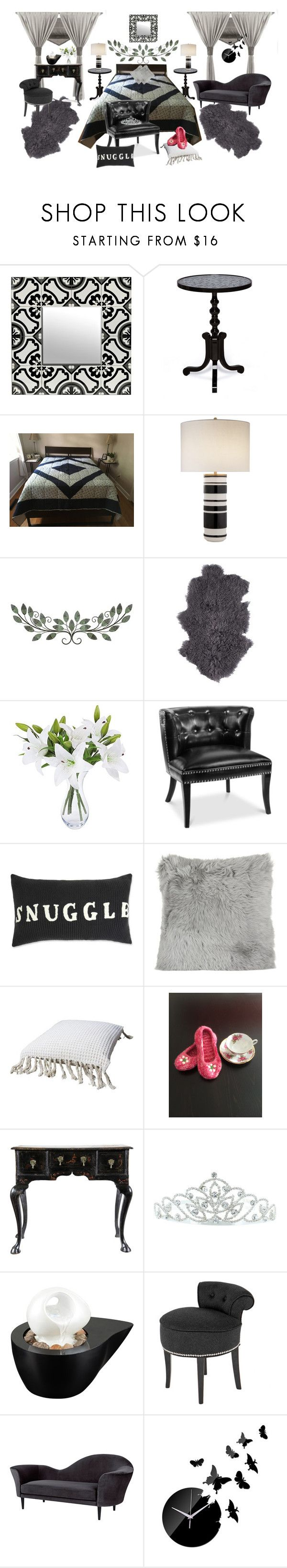 """""""Handmade Quilt and Slippers"""" by bamasbabes on Polyvore featuring A by Amara, Kate Marie, John Timberland, Eichholtz and Gubi"""