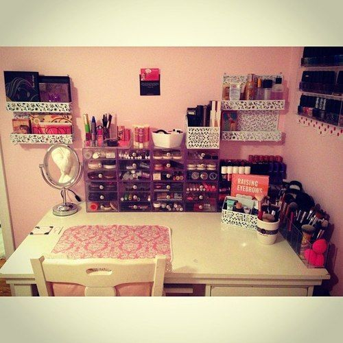 Best 25 Makeup Display Ideas On Pinterest Vanity Table
