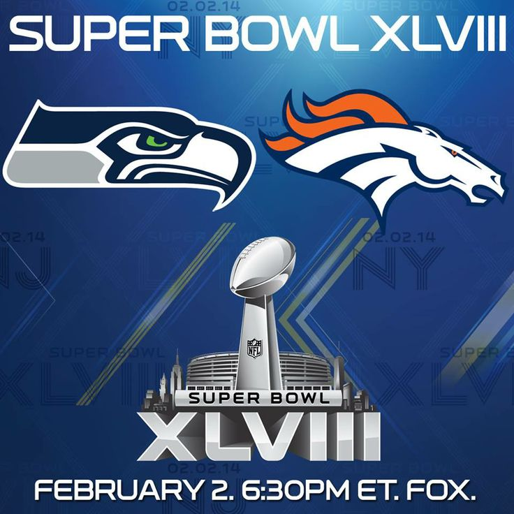 It's officially Super Bowl Sunday! ‪#‎SB48‬