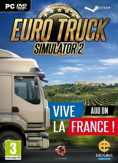 Euro Truck Simulator 2 : Vive la France SKIDROW Telecharger Gratuit et profitez du plein air français avec ses regards divers et sa végétation.