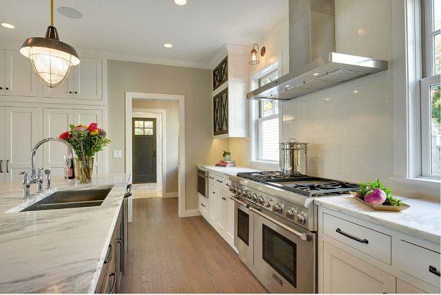 Greige backsplash greige subway tile backsplash kitchen - Black owned interior design companies ...