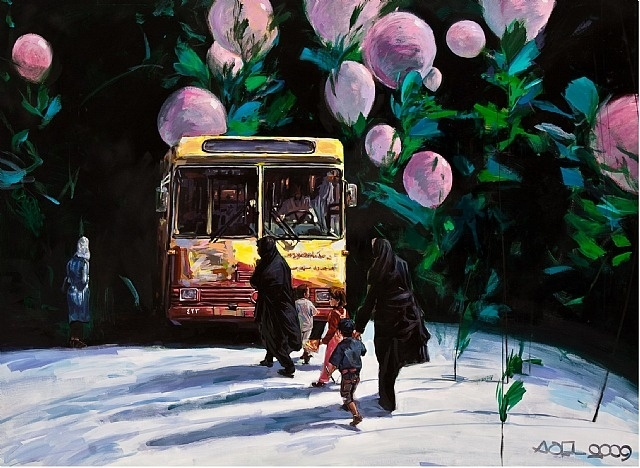 artnet Galleries: Untitled by Adel Younesi from Shirin Art Gallery