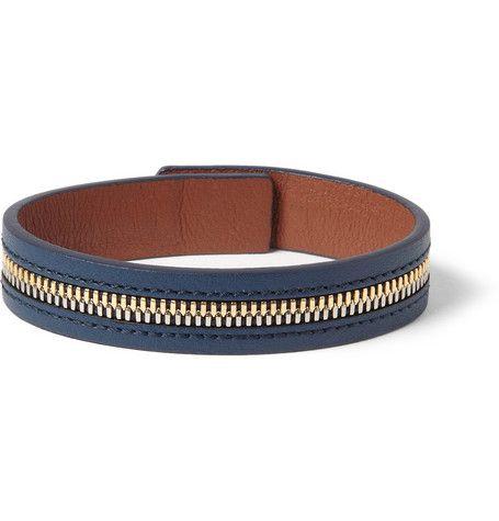 #WANT Les Essentiels de la Vie Tambo Zip Leather Bracelet
