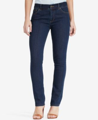 Lauren Ralph Lauren Stretch Premier Straight-Leg Jeans | macys.com