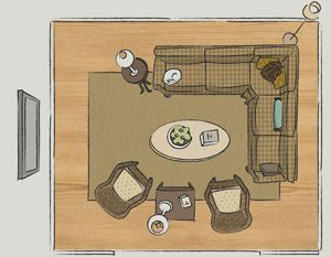 Layouts For Organizing Front Room Furnishings…