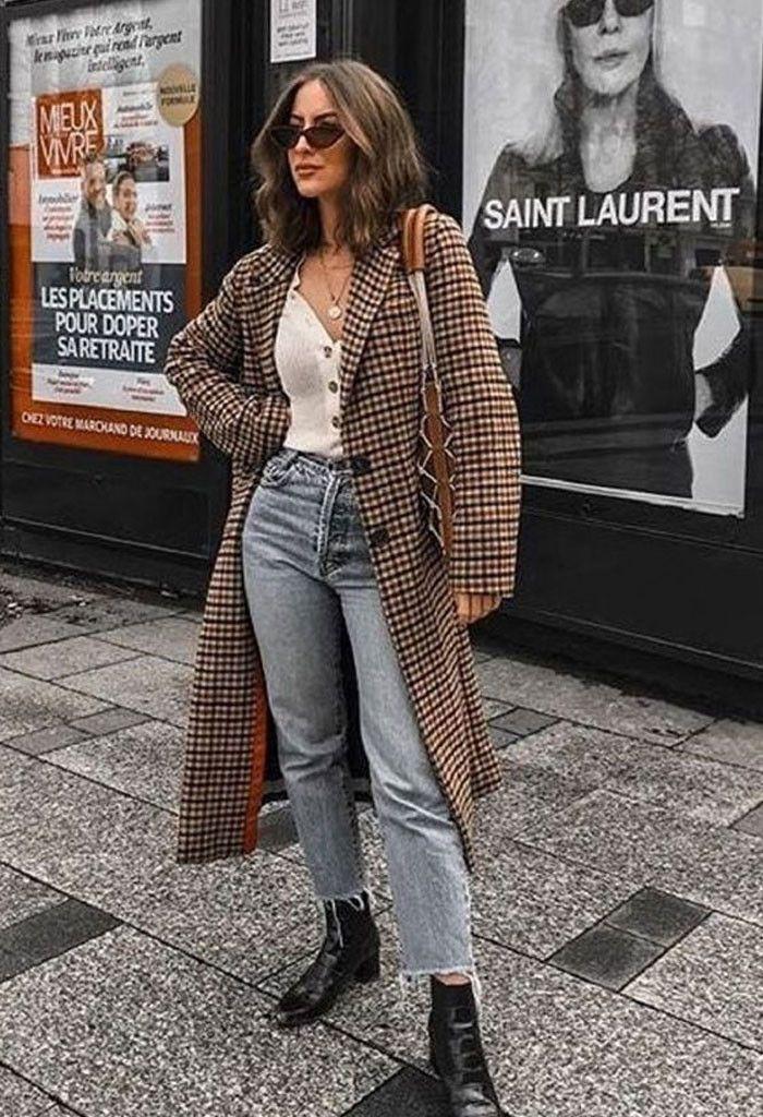 18 looks de inverno com calça jeans: para inspirar e copiar sem medo