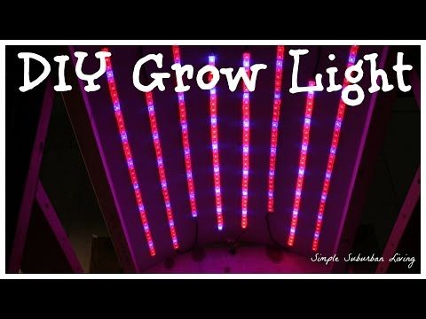 Construct a Commercial Grade LED Grow-Light for approx:$40 which would normally cost around $200.
