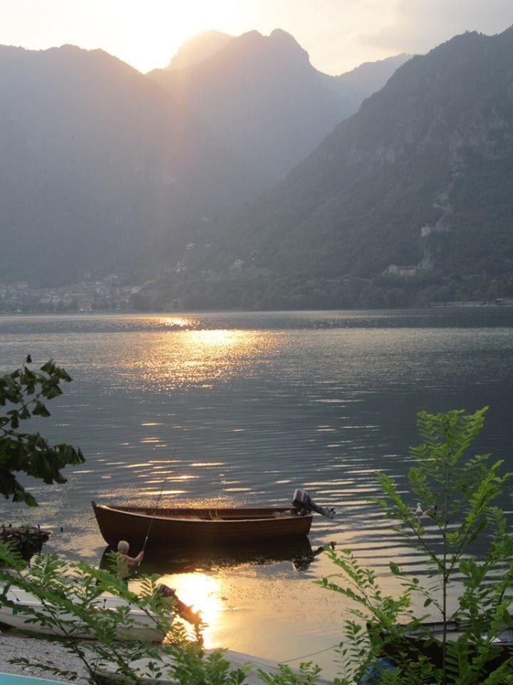 Lake D'Idro, Italy, where's the hatchery of the Armanini brothers http://www.originar.io/story/speck-di-trota-dei-fratelli-armanini/?lang=en