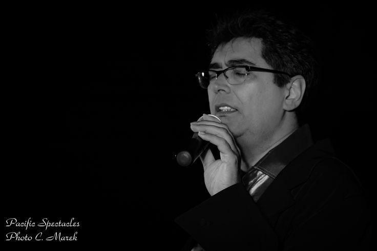 Laurent Vergnes Chanteur de Pacific Spectacles