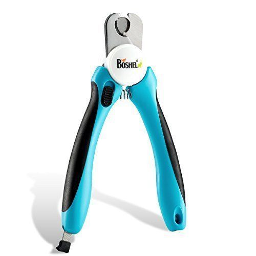 Dog Nail Clippers And Trimmer Safety Guard Avoid Over Cutting Free Nail File New #PetIdeas