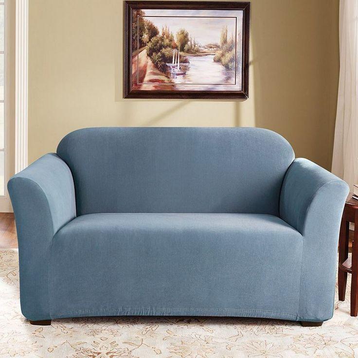 Best 25 sofa slipcovers ideas on pinterest couch slip - Slipcovers for living room furniture ...