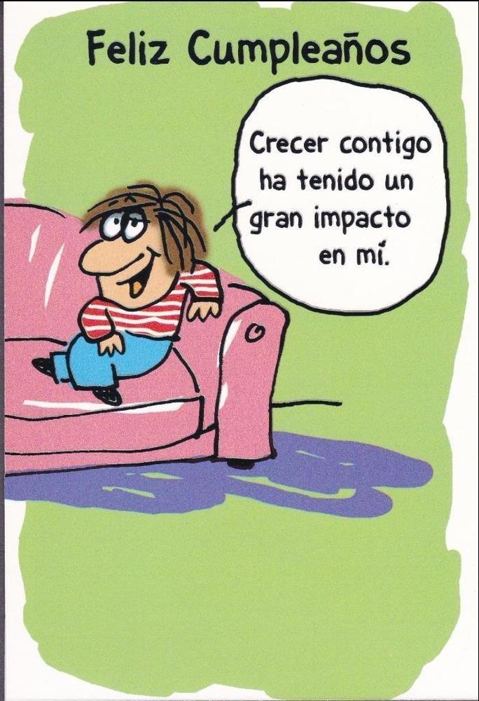 Spanish Birthday Greeting Card Humorous AmericanGreetings