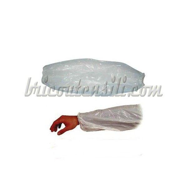 Manicotto monouso con elastico alle estremità