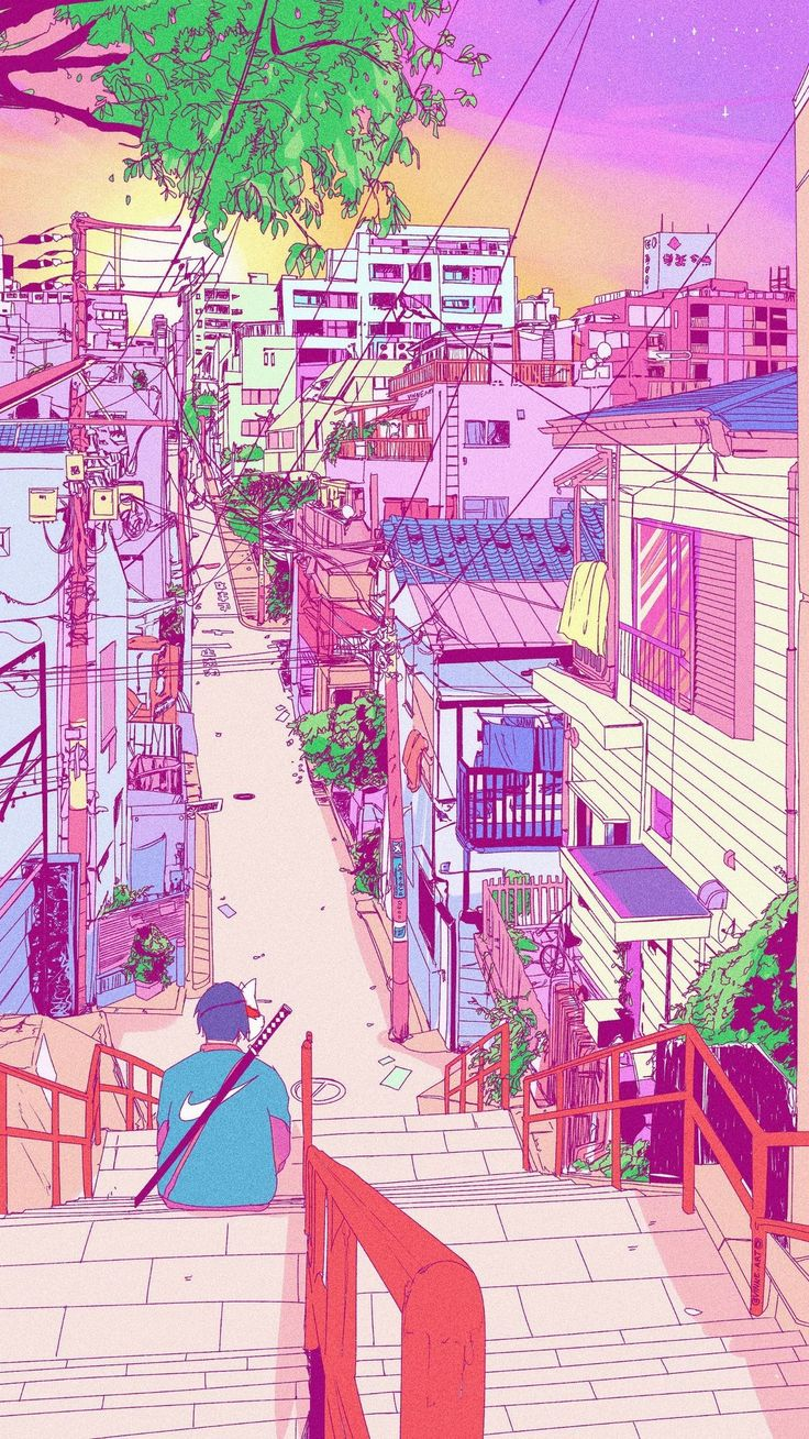 Pin by Danielle Lo on Illus Aesthetic wallpapers