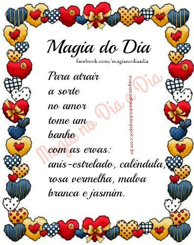 Magia no Dia a Dia: Magia do Dia: amor