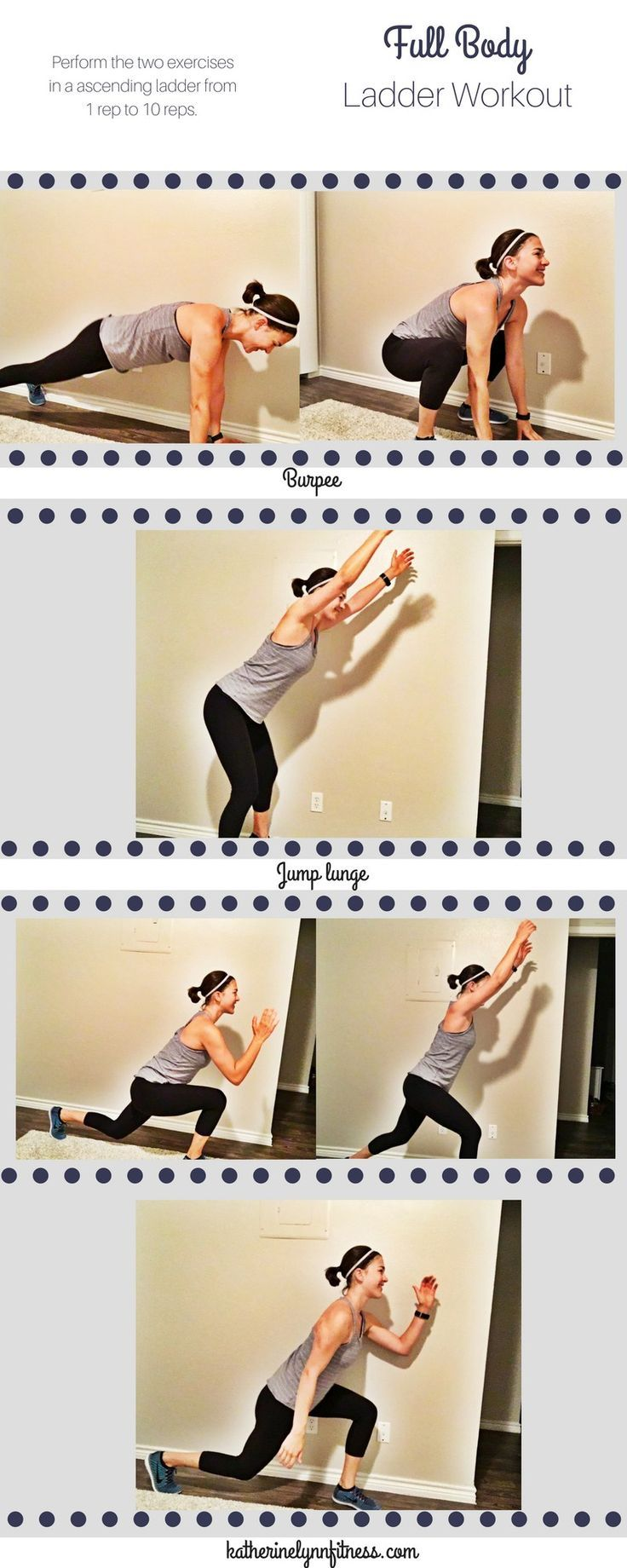 10 minute, full body ladder workout