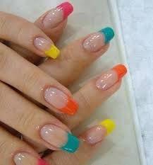 Resultado de imagen para como poner uñas acrilicas en los pies