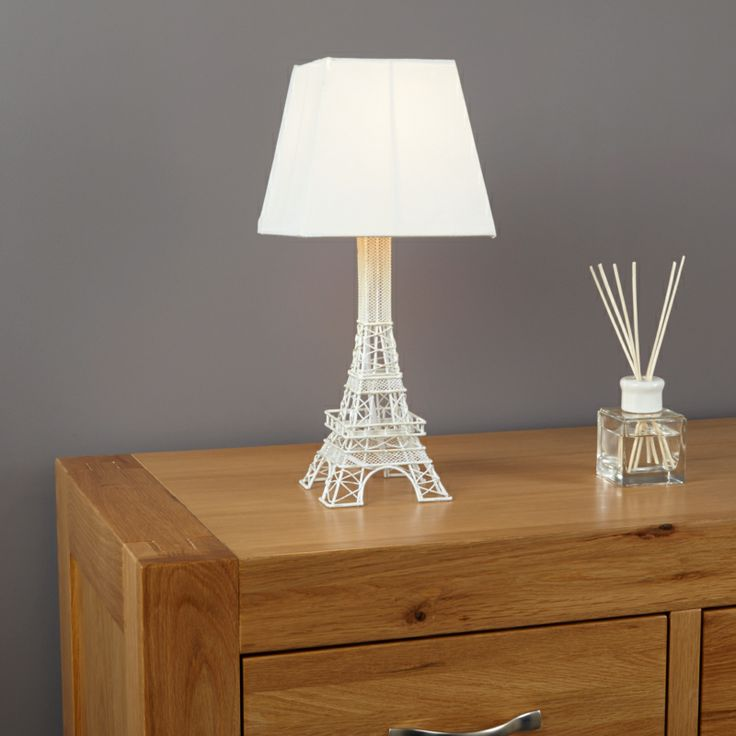 eiffel tower lamp baby girl nursery items pinterest. Black Bedroom Furniture Sets. Home Design Ideas