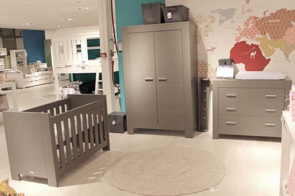Nieuwe babykamer merel in de kleur Cool Grey van Bopita