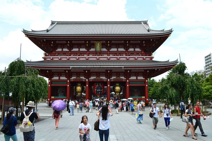 Sensō-ji #Tempel in #Tokyo | #Japan http://www.funkloch.me/senso-ji-tempel-in-tokyo-japan-asientrip/ #asientrip